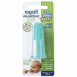 Baby Buddy Finger Toothbrush Stage 2 For Babies/Toddlers, Ki