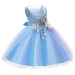 Flower Girls Dresses for Birthday Party Clothes Lace Pageant