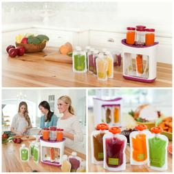 Toddler  Feed Fresh Squeeze Station Baby Food Maker Dispense