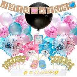 Gender Reveal Party Supplies,  Baby Shower Boy or Girl Revea