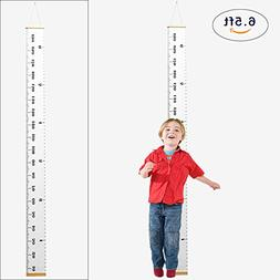 Growth Chart Baby Height Large Handing Ruler Wall Decor Canv