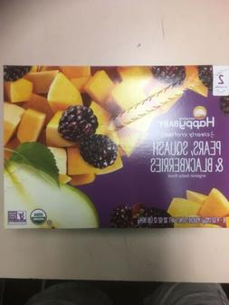 Happy Baby 16 pouches of Pears Squash & Blackberries Organic