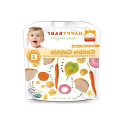 Happy Baby Organic Baby Food Stage 3 Gobble Gobble