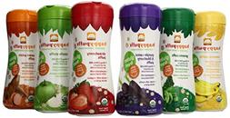 HAPPYBABY Organic Puffs Sampler , 60g each,