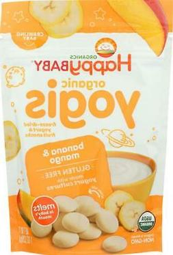 Happy Baby HappyMelts Organic Yogurt Snacks for Babies and T