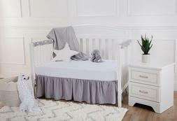 American Baby Company Heavenly Soft Chenille Fitted Crib She