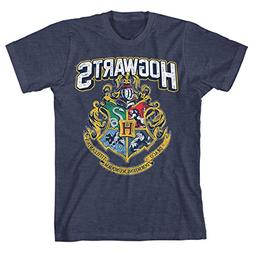 hogwarts distressed boys youth t shirt licensed