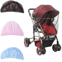Infant Baby Kids Mesh Mosquito Net Canopy Cover for Stroller