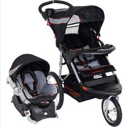 Jogging Stroller for Women Baby Stroller set Carseat Combo A