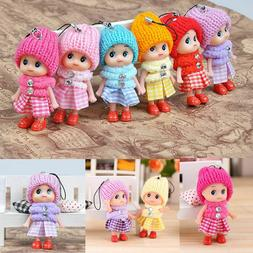 Kids Toys Soft Interactive Baby Dolls Toy Mini Doll Cute For