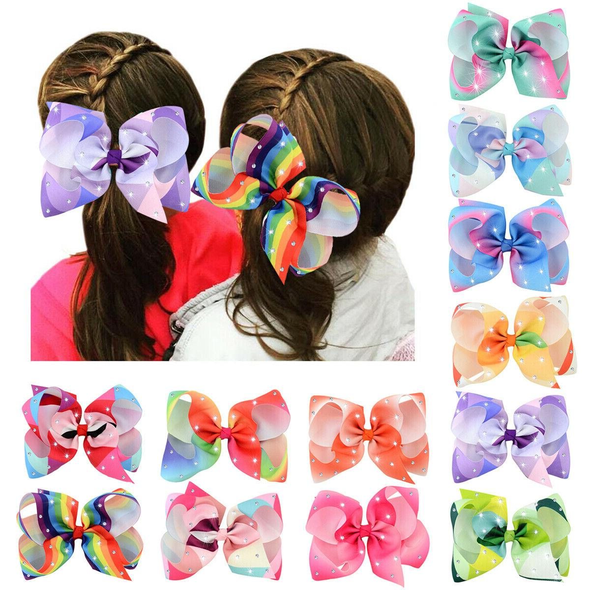 12pcs Hair Bow Clips Clip for