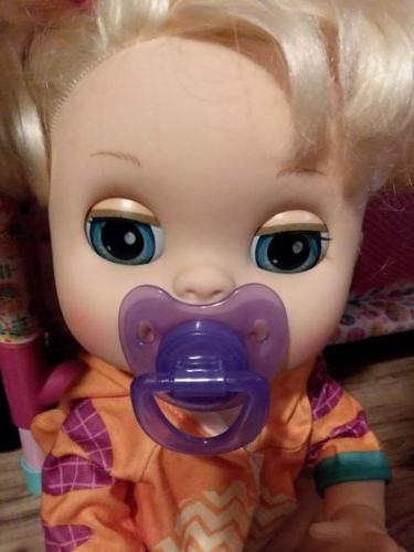 2 PACIFIERS FOR BABY ALIVE DOLLS NO DOLL INCLUDED