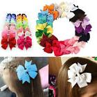 "20/40Pcs 3"" Baby Girls Grosgrain Ribbon Boutique Hair Bows F"