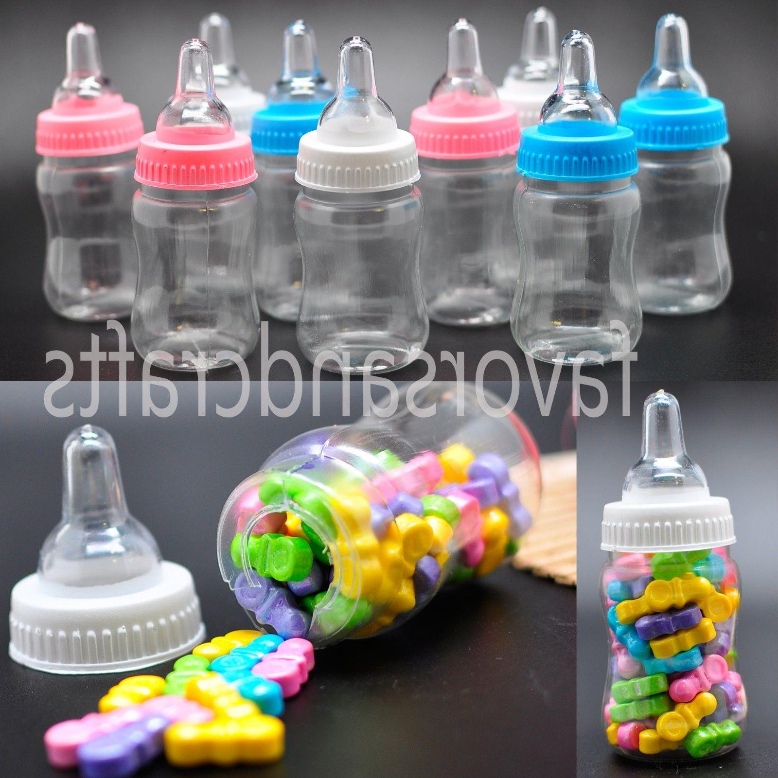24 fillable bottles for baby shower favors