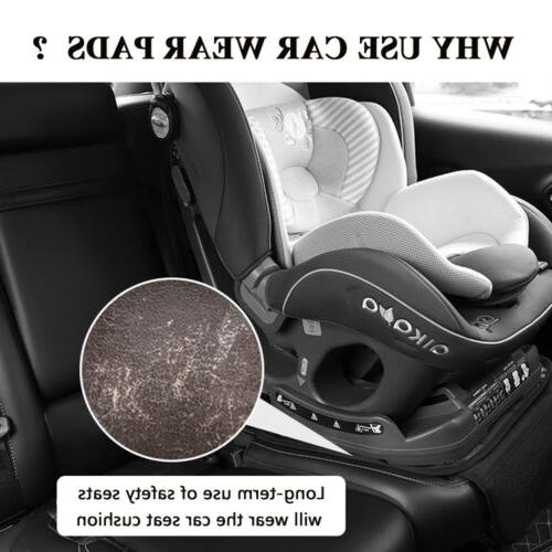 2Pack Car Cover Under Carseat Baby Leather