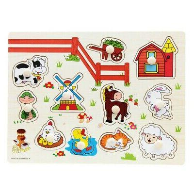 3-7T Letter Puzzle Wooden Early Learning