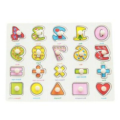 3-7T Puzzle Wooden Early Educational