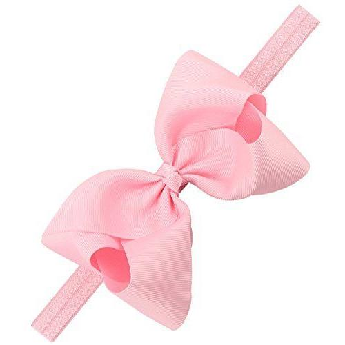 "30Pc 4.5"" Hair Bows Headbands for Infant Toddlers Big"