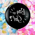 36inch He or She Girl or Boy Balloon Gender Reveal Latex Bal