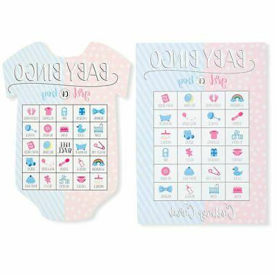 36x Party Games Bingo and Girls Card Baby