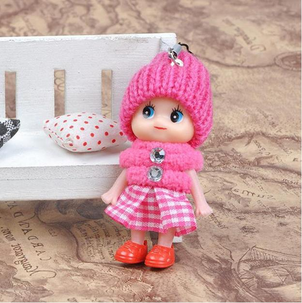 5Pcs Kids Toys Interactive Baby Dolls Mini Doll Girls Cute SA