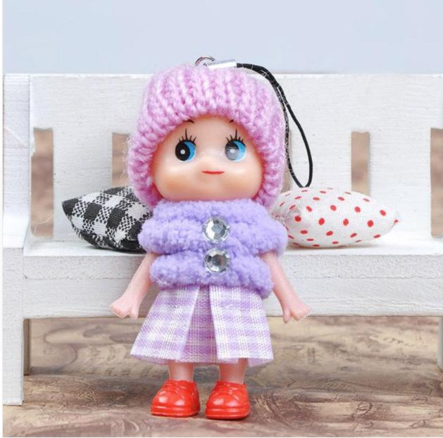 5Pcs Kids Soft Interactive Mini Doll For Cute