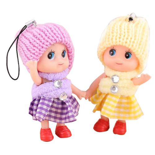 5Pcs Kids Toys Interactive Baby Toy Mini Doll For Girls Cute SA