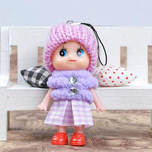 5Pcs Interactive Baby Dolls Mini Doll For Cute Gift