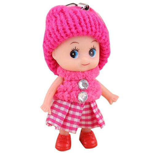5Pcs Toys Soft Interactive Toy Mini Doll Girls Cute Gift