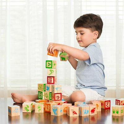 ABC Wooden Building for Jumbo Size w/