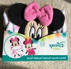 Disney Baby 0-3m Minnie Mouse Bathtime Wrap Hooded Swaddle T