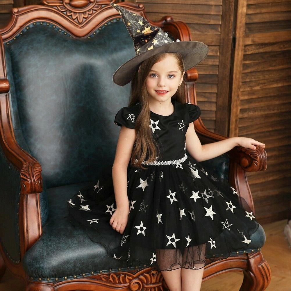 Baby Girls Dress With For Halloween Party