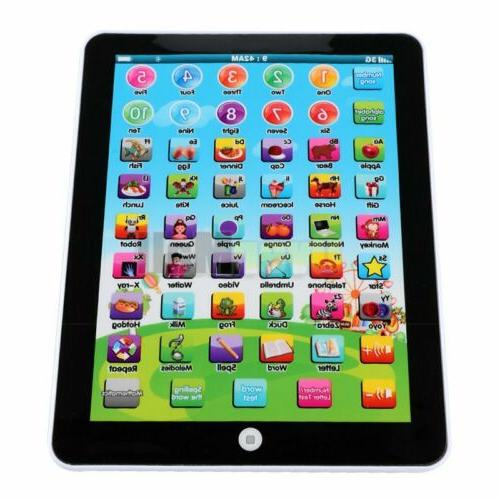 Baby Tablet Educational Toddler