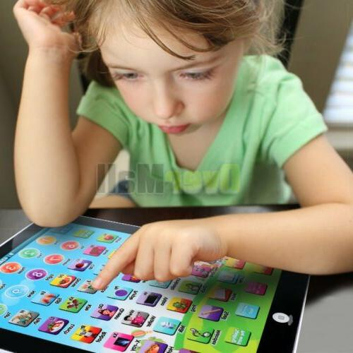Baby Tablet IPAD Educational Gift For Girl Boy Toddler
