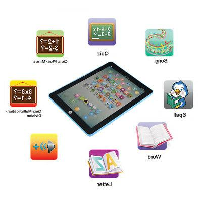 Baby Kids Earlly Tablet Educational Gift For Boy Toddler