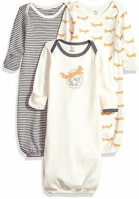 baby organic cotton gown