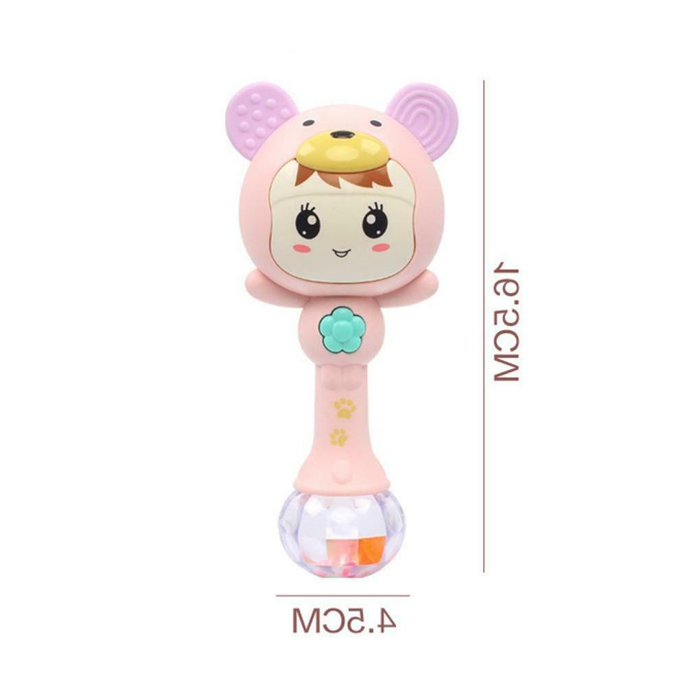Baby Rattles Doll Bell Music Toys Months SS
