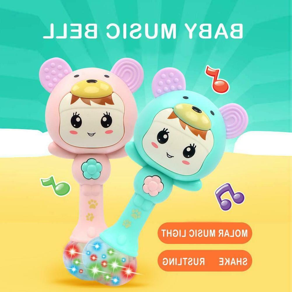 baby rattles doll toy bell music learning