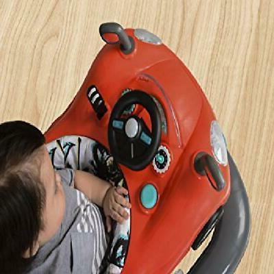 Baby 2 1 Toy Toddler Lights Sounds Height Red