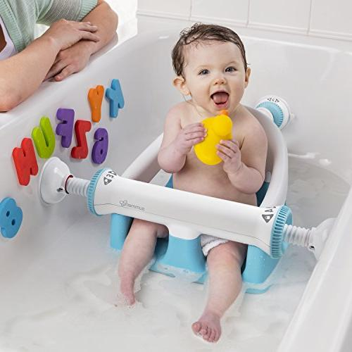 Summer Infant Bath Seat, for Bathing Backrest Cups Stability