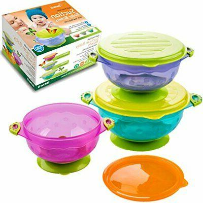 Baby Bowls Feeding Bows Toddlers Infants Cups Set Dish Potty