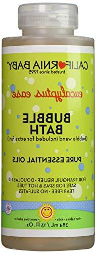 California Baby Bubble Bath Aromatherapy, Eucalyptus Ease 1