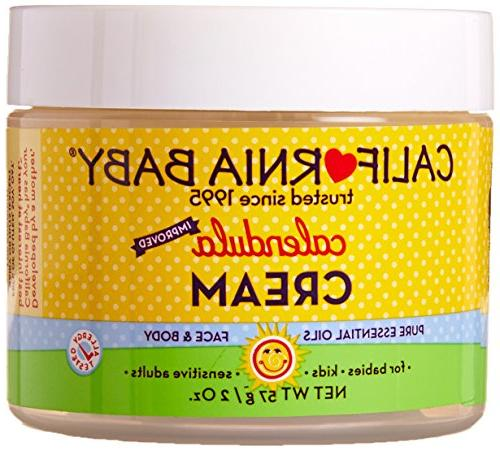 California Baby Calendula Cream, Nature's First Aid