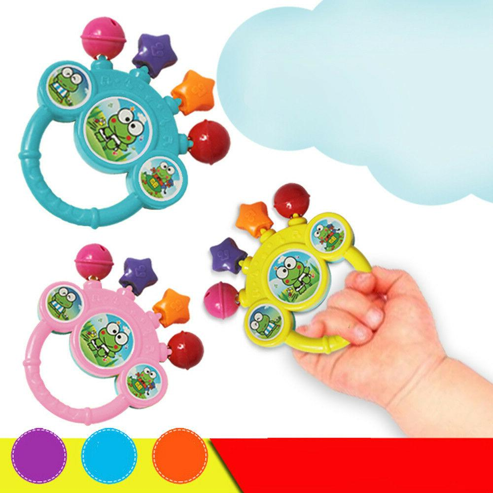 Cartoon Infant Baby Rattles Newborns Toys Toy For