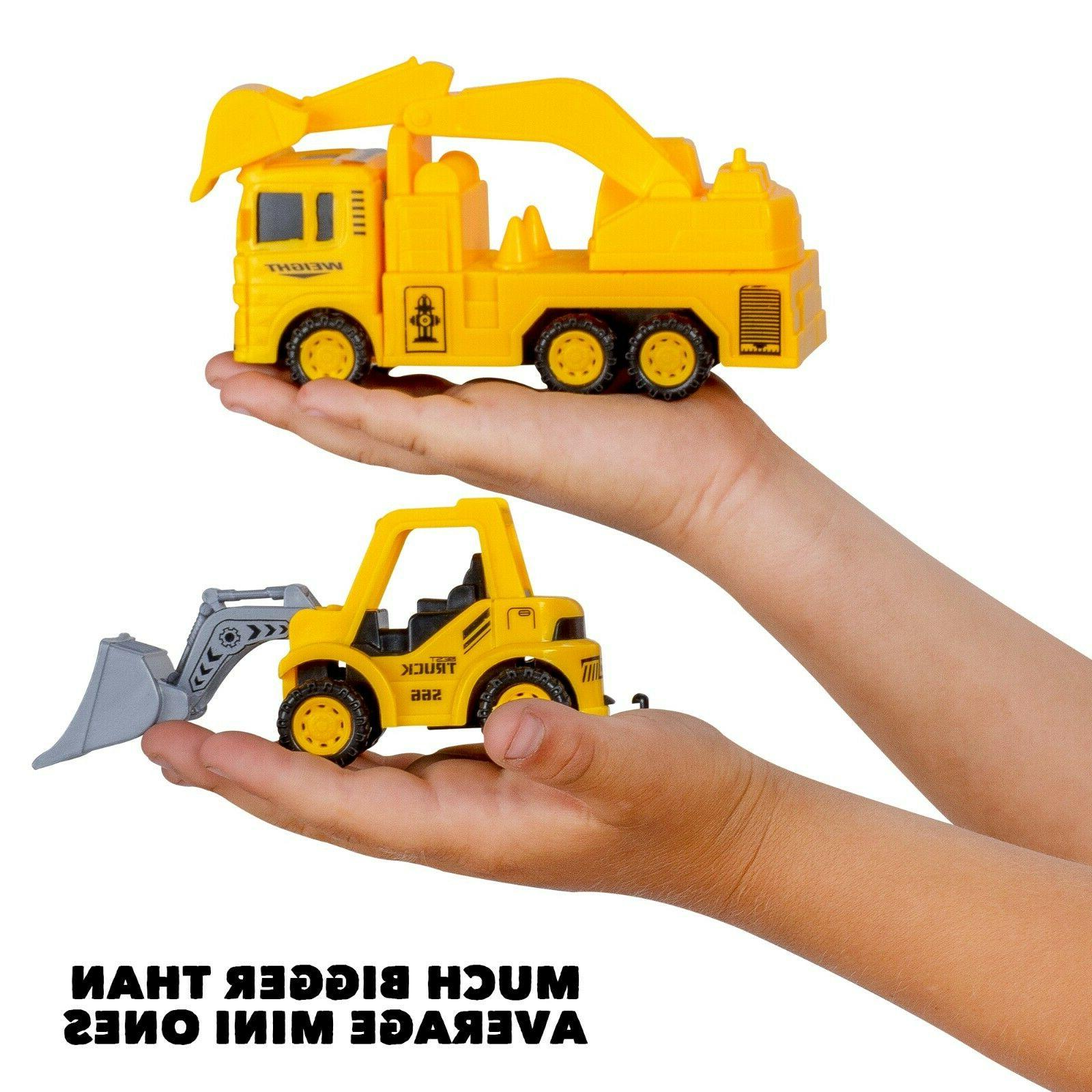 Construction Trucks Toy Set Toys Boys and Age 3 Year