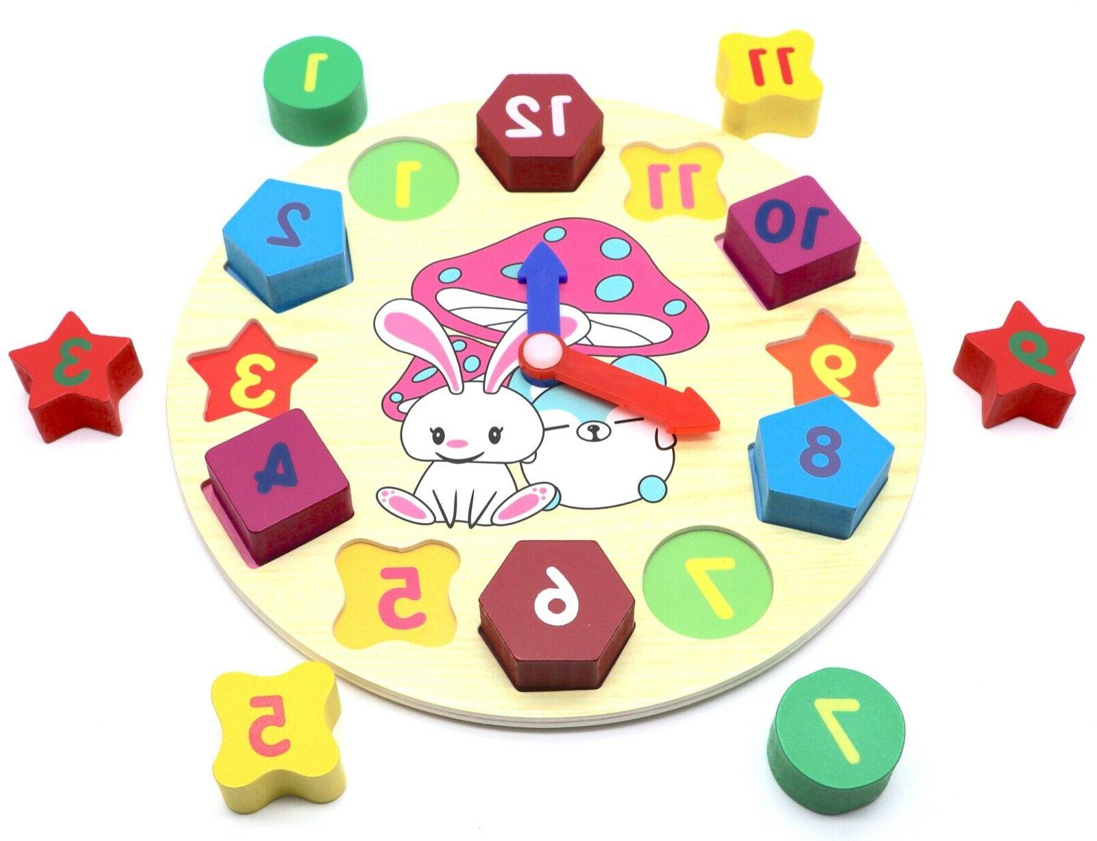 Educational Sorting Puzzle Play Toy Toddlers