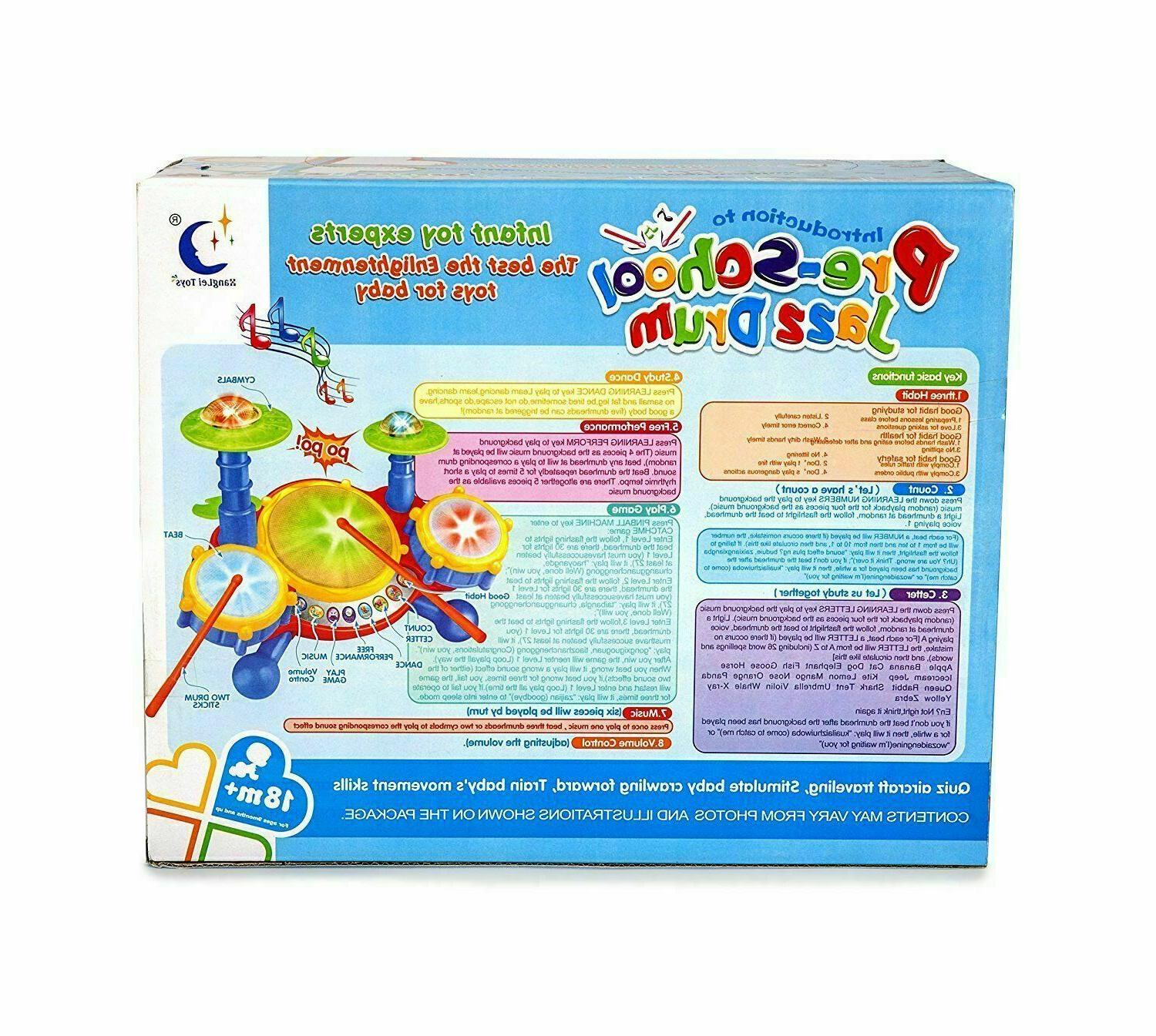 Educational Year Old Toddlers Boy Girl Drum