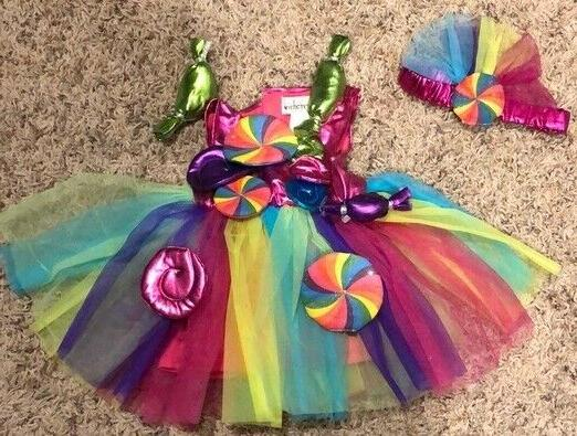 euc candy fairy costume for baby infant