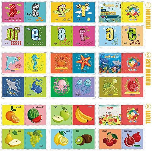 teytoy Book, Cloth Early Toys Activity Crinkle Book for and Perfect for Baby Shower 6