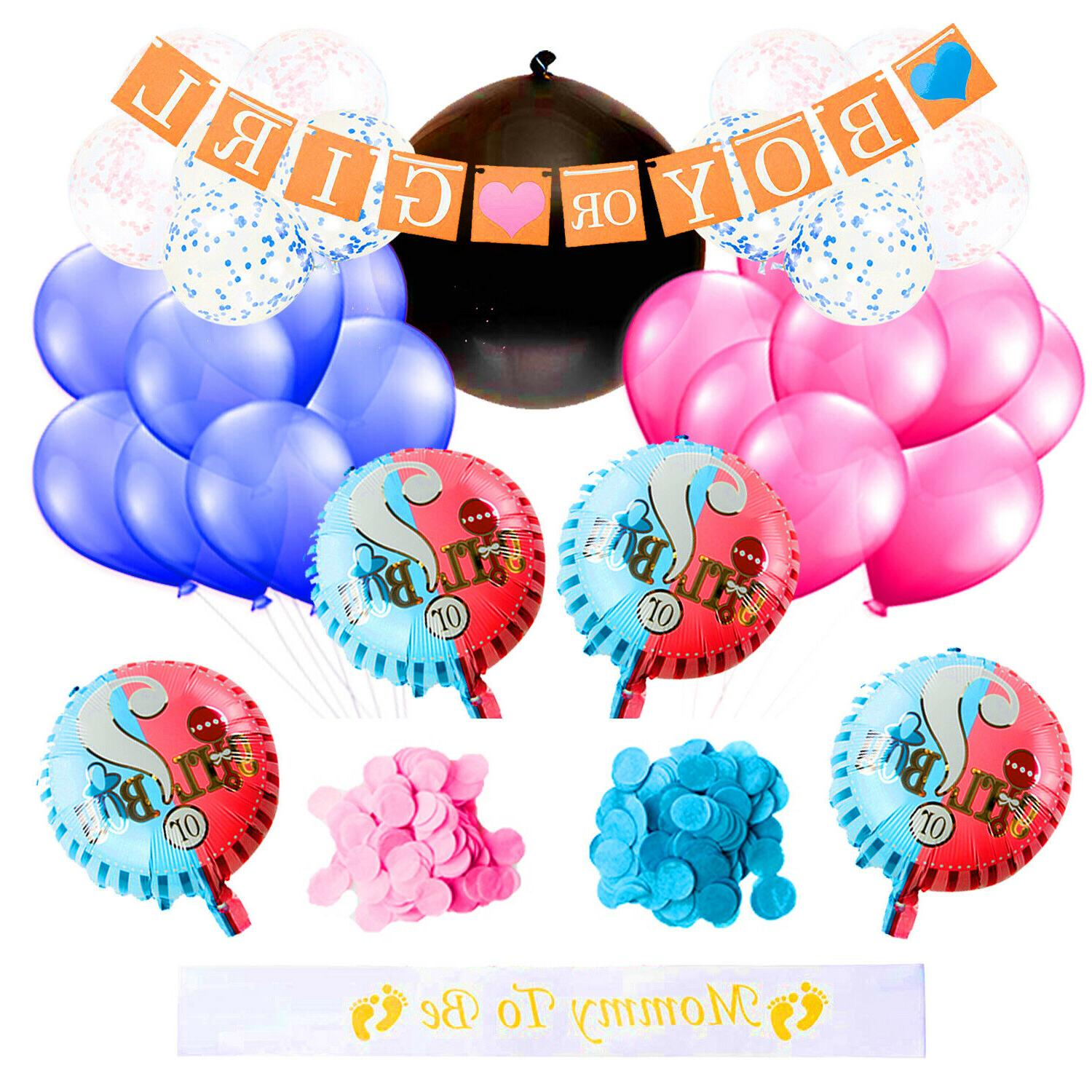 gender reveal party supplies baby shower decorations